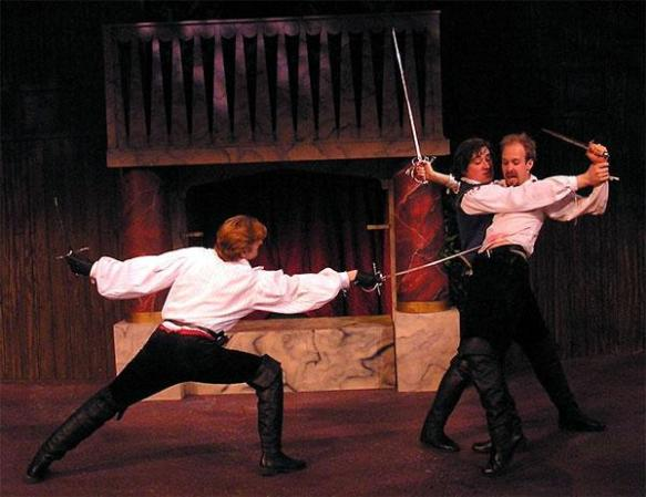 As Mercutio in Romeo  & Juliet, Actor's Shakespeare Company, New Jersey (2006)